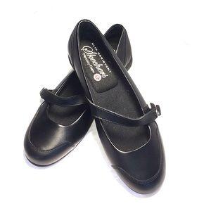 Sketcher's Black Leather Work Size 9
